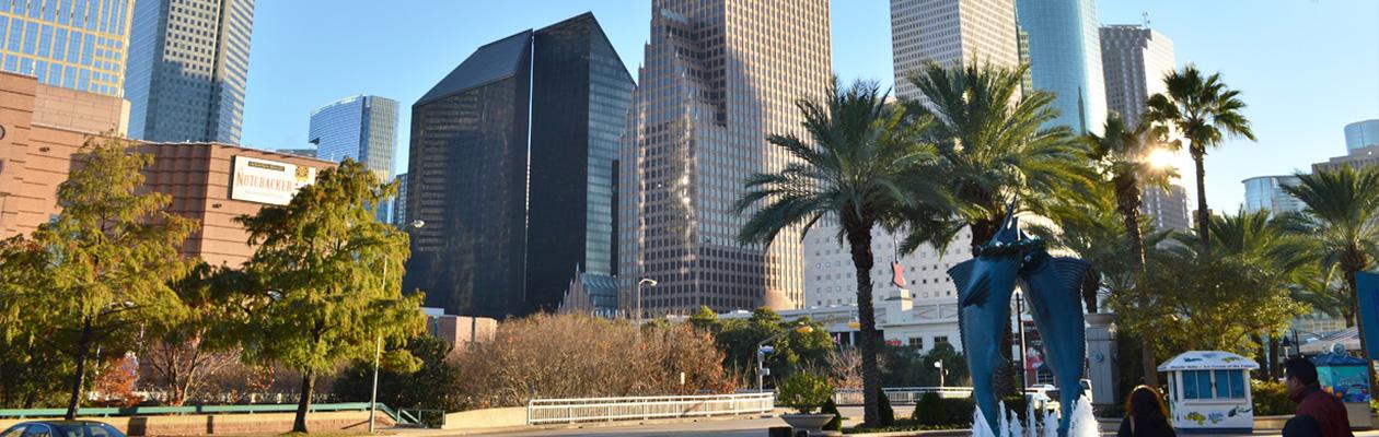 ヒューストンの街並み